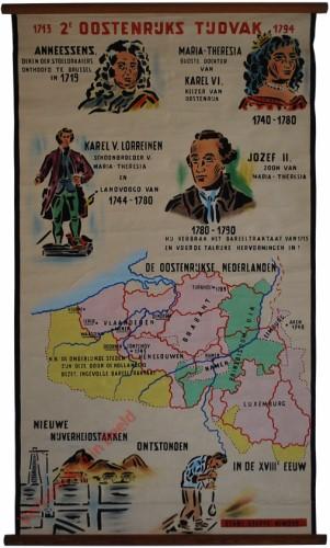 2e Oostenrijks tijdvak, 1713-1794